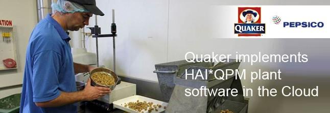 Quaker Pepsico HAI software nieuwsitem