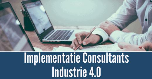 Implementatie consultants  laptop