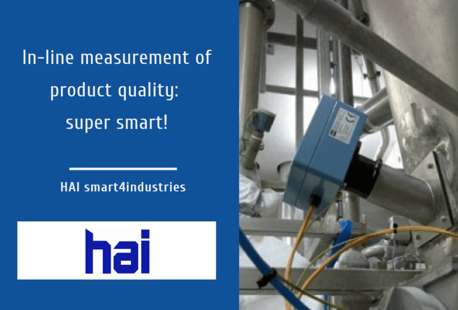 inline measurement of product quality